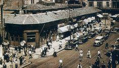 Eski İstanbul: Yıkılmadan Önce Karaköy'deki Tek Katlı Mağazalar | Eski İstanbul Fotoğrafları Arşivi