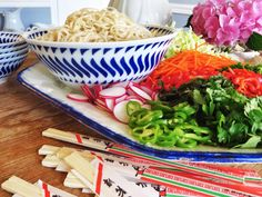 Tasty #Recipe: Easy Asian-Style Noodle Bowl (http://blog.hgtv.com/design/2014/06/19/easy-asian-style-noodle-bowl/?soc=pinterest)