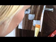 Pixelated HairColor - how to - YouTube