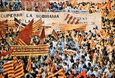 #fotografia #arxiugràfic #onzedesetembre #diada #Catalunya #1977 #Barcelona