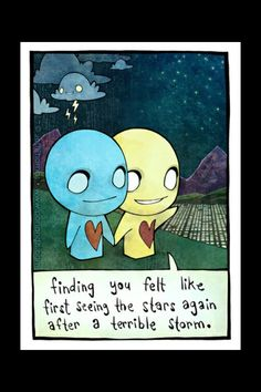 Photo: pon and zi jeff thomas azuzephre emo comic cartoon it would be easy to tell we're supposed to be thogether even if we were puzzle pieces. Emo Love Cartoon, Cute Love Cartoons, Emo Cartoons, Emo Pictures, Emo Pics, Random Pictures, He's Mine, Emo Quotes, Care Quotes