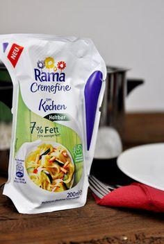 Leichter Genuss aus dem Vorratsschrank ist jederzeit möglich: mit der neuen Rama Cremefine zum Kochen mit nur 7% Fett.