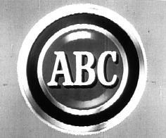 Early ABC television / tv logo