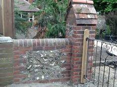 Image result for brick and flint garden walls
