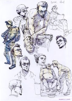 Kim Jung Gi - Sketches