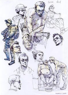 Kim Jung Gi - Sketches