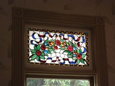 Victorian window Stained Glass Art, Stained Glass Windows, Victorian Windows, Vintage Interiors, Glass Design, Old Houses, Locks, Keys, Frame