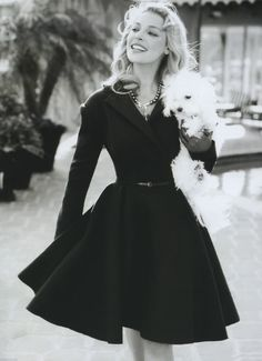 I think every girl should own a 50's vintage dress like this one... from inspired-design.tumblr.com