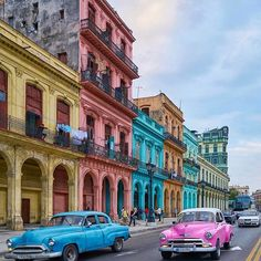 HAVANA, CUBA. Photo by @king_roberto One of the coolest streets we've ever seen! @king_roberto just got back from Cuba! Explore. Share. Inspire: #EarthFocus