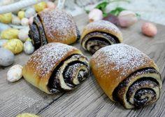 Csokis párna   Zombor-Tóth Szimonetta receptje - Cookpad receptek Hungarian Recipes, Recipes From Heaven, Snail, Muffin, Dessert Recipes, Food And Drink, Cooking Recipes, Sweets, Bread
