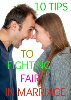 Fighting fair in marriage happens during heated arguments and could even lead to fighting with each other. Discover how to fight fair in healthy ways.