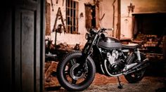 Custom Honda CB750 Dark Brownie