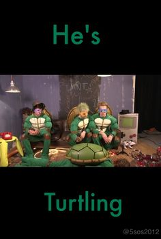 someone needs to make an edit thats like: KEEP CALM AND TURTLE ON!