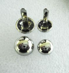 Purse Feet - Round Dome Silver 3 sizes 8mm,10mm & 12mm…