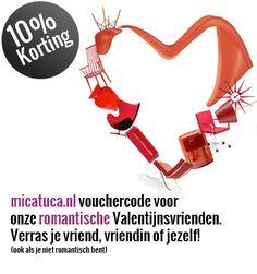 Verras je vriend, vriendin of jezelf op micatuca.nl     10% korting op al onze design meubelen en accessoires.     Voucher Code: wonenonline2013