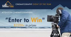 The CineSummit is THE Cinematographer Event of the Year! Enter to Win all previous summits - valued over $750 each!