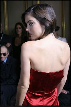 Jessica Stroup - Vivienne Westwood Show at Paris Fashion Week 10-02-2009 (009)