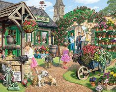 The Garden Shop Puzzle-White Mountain Puzzles