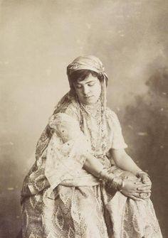 Jeune Mauresque, Algérie XIXe s.