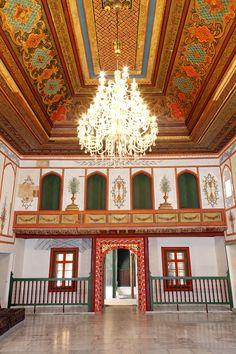 Бахчисарай: Ханский дворец.Зал дивана