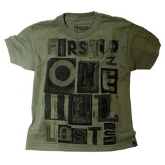 O'Neill Collective Army Green Boys T Shirt