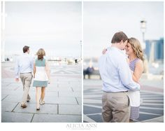 Boston Harbor Engagement Session by Alicia Ann Photographers