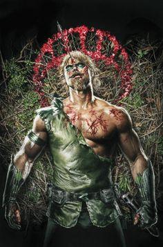 GREEN ARROW #3 Cover by MAURO CASCIOLI