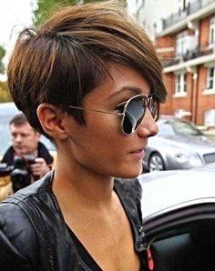 15 Pixie Asymmetrical Hair   Pixie Cut 2015