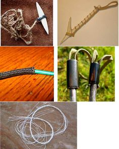 A Long-Term Survival Guide - 101 Uses for Paracord