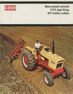 CASE 1175 AGRI-KING Ad