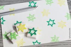 star rubber stamp tiny star stamp rubber stamp by byhoneysuckle, $10.00