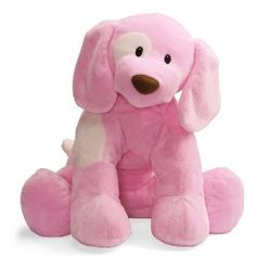 Gund Baby Spunky Plush Puppy Toy, X-Large, Pink (Discontinued by Manufacturer) Baby Animals, Cute Animals, Cute Little Things, Pink Things, Pink Love, Hot Pink, Baby Games, Toddler Toys, Dog Toys