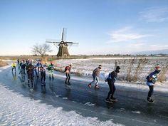 Elfstedentocht, The Netherlands