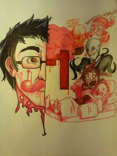 Fan Art I made for markiplier. Cause he's SOOOOOOO awesome!