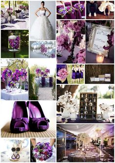 """Cuando se trata de bodas, """"lila"""" y """"beige"""" no son colores, son categorías.  Para garantizar que tu esquema de colores luzca como lo sueñas, necesitas olvidarte de las descripciones y cargar con muestras de pintura exactas a cada tono. #themes #colors #wedding #lila #beige"""