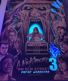 Steven Holliday @stevenlurosholliday Nightmare On Elm Street 3