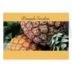 Pineapple Socialites Card