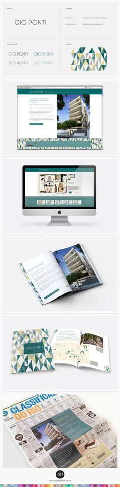 AHdesign Studio, Projeto Gráfico, Naming e Website para empreendimento Gio Ponti #design, #graphicdesign, #idvisual, #branding, #corporatedesign, #imobiliaria, #bookvendas, #realestate, #arquitetura, #architecture, #websitedesign, #webdesign, #site, #ahdesignstudio