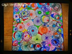Wonder if I can get this effect with the spirograph