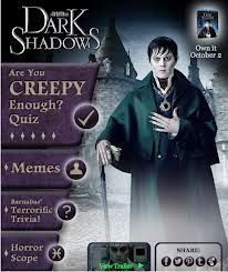 Play the Dark Shadows App for a chance to win the DVD/Blu-Ray Combo Pack! http://squashiedipity.com/2012/10/own-dark-shadows-on-dvd.html
