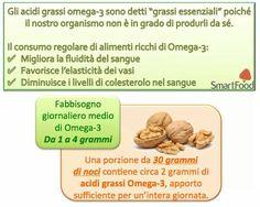 Noci e omega 3