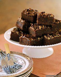 Caramel Pecan Brownies - Martha Stewart Recipes