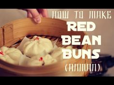 Red Bean Buns あんまん (Anman)