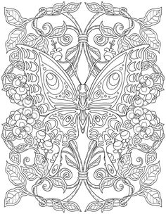 15 CRAZY Busy Coloring Pages for Adults Page 6 of 16 Nerdy