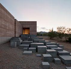 entrance stepping stones / Tucson Mountain Retreat / Dust