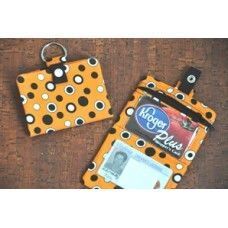 Five Star Fonts - In the hoop embroidery - Key Chain Wallet In the Hoop
