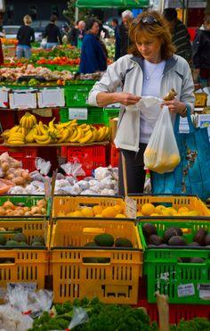 Produce market, Wellington, New Zealand