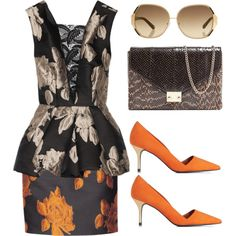 """Autumn Day"" by the-classics on Polyvore"