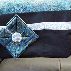 Pouch for Walker or Wheelchair in Blue by JadeRoseBoutique on Etsy, $38.00