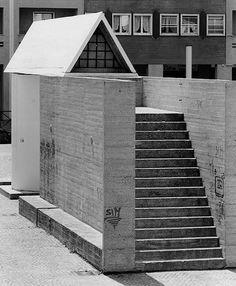 Aldo Rossi, monumento ai Partigiani, Segrate, 1965